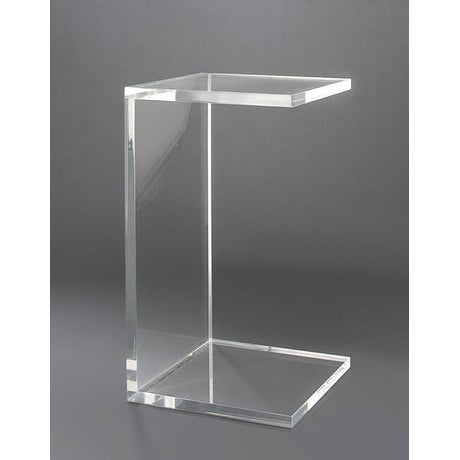 Small Lucite Coffee Table.Boda Acrylic Small Side Table