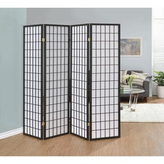 "Four-panel Folding Screen - 69.50"" x 0.75"" x 70.25"""