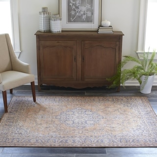 """Momeni Afshar Machine Made Polyester Copper Area Rug - 8'5"""" x 12'"""