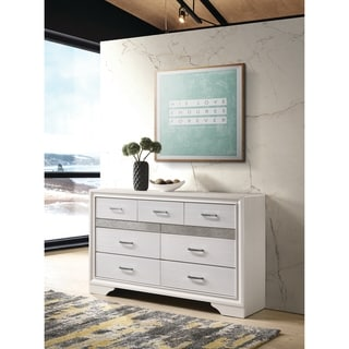 Miranda Modern 7-drawer Dresser with Hidden Jewelry Tray