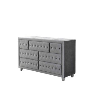 Silver Orchid Viby Metallic Dresser