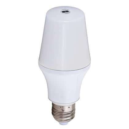Instalux 12W LED Motion Sensor Bulb 800 Lumens Medium Base - White - 2.25-in W x 5.28-in H x 2.25-in D