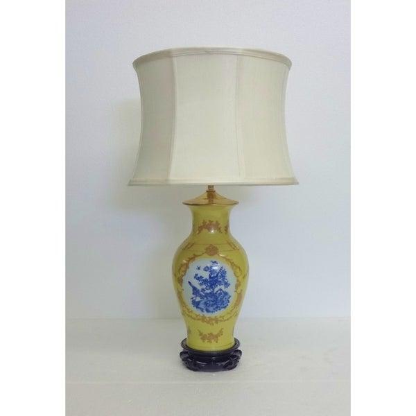French Elite Porcelain Table Lamp