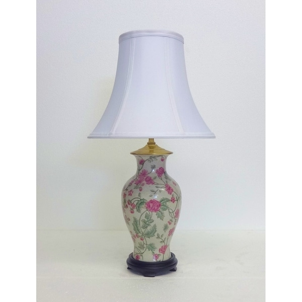Azalea Porcelain Table Lamp