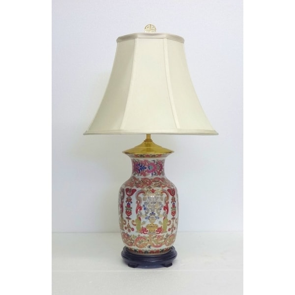 Pink Bombay Porcelain Table Lamp