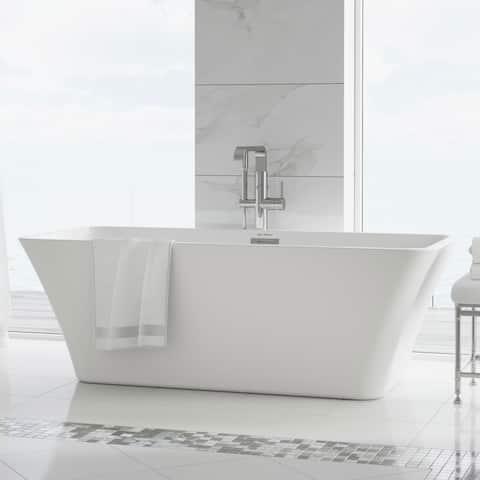 Swiss Madison St Tropez Acrylic Freestanding Bathtub