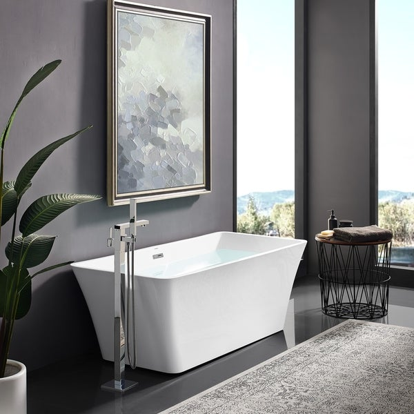 Shop Swiss Madison St Tropez® Acrylic Freestanding Bathtub - On Sale ...