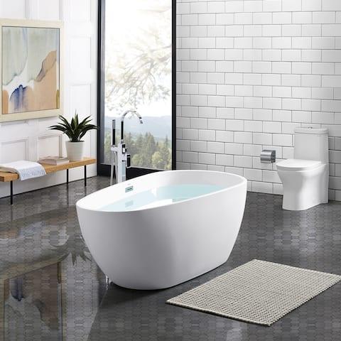 Swiss Madison Monaco® Acrylic Freestanding Bathtub