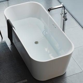 Swiss Madison Concorde® Acrylic Flatbottom Freestanding Bathtub
