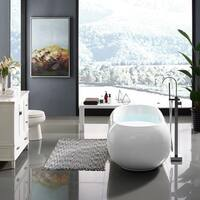 Swiss Madison Plaisir® Acrylic Freestanding Bathtub