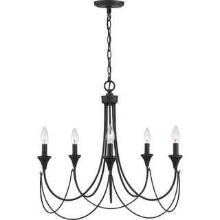 Quoizel lighting find great home decor deals shopping at overstock quoizel swanville 5 light 25 inch wide candle chandelier aloadofball Gallery