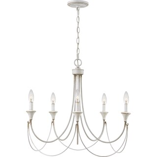 Quoizel Swanville 5-light 25-inch Wide Candle Chandelier (2 options available)