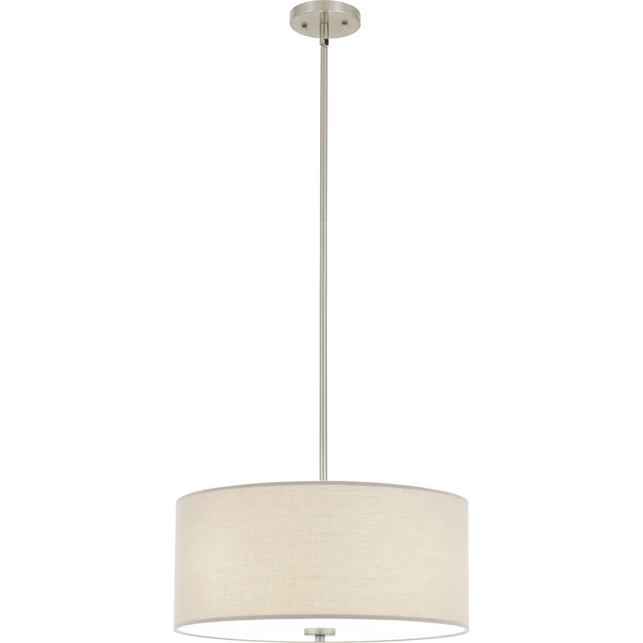 Quoizel Heather 3-light 18-inch Wide Drum Pendant