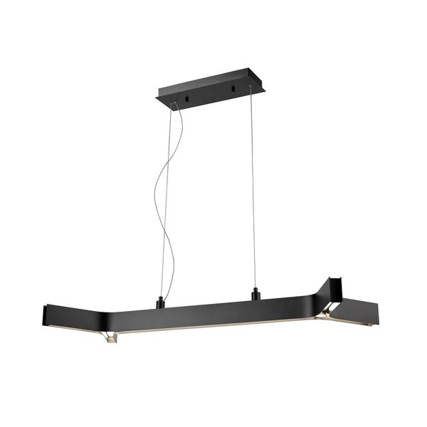 Avery Home Lighting Arcano Matte Black 5-light Pendant