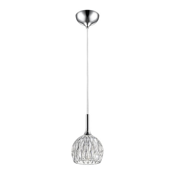 Avery Home Lighting Laurentian Chrome 1-light Mini Pendant