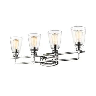 Avery Home Lighting Annora Chrome 4-light Vanity