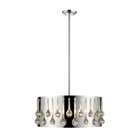 Avery Home Lighting Oberon Chrome 5-light Pendant