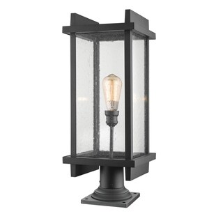 Avery Home Lighting Fallow Outdoor 1-Light Pier Mounted Fixture