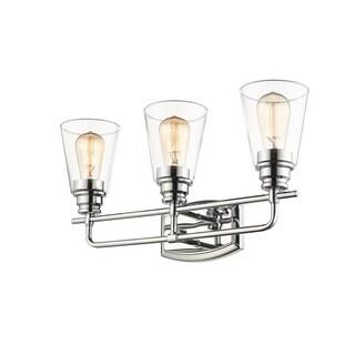 Avery Home Lighting Annora Chrome 3-light Vanity