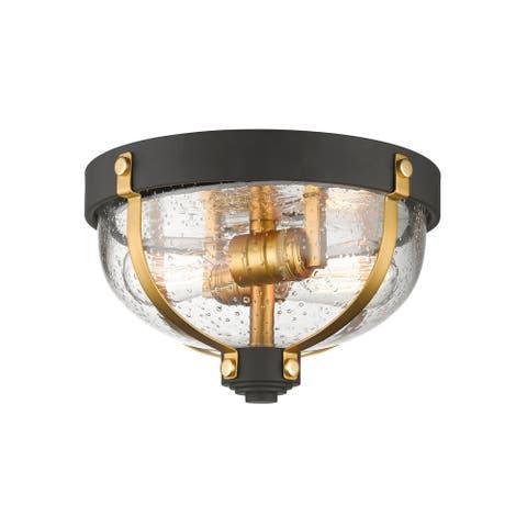 Avery Home Lighting Burren 2-light Flush Mount