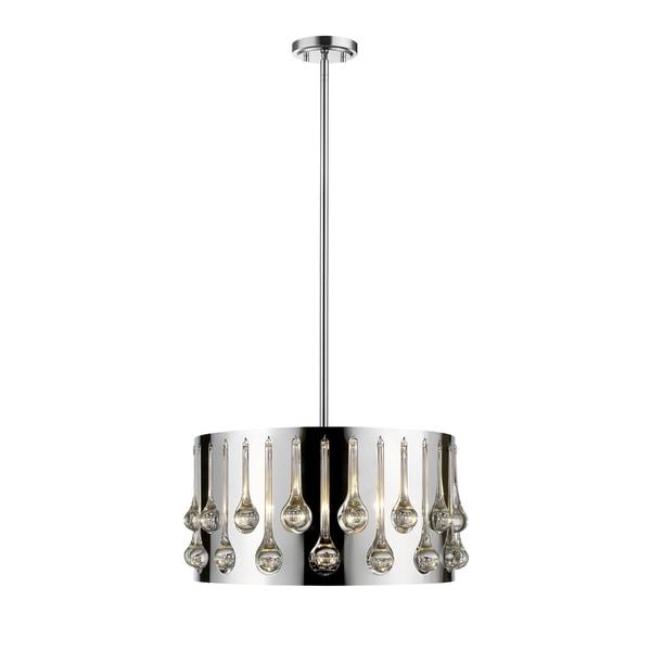 Avery Home Lighting Oberon Chrome 4-light Pendant