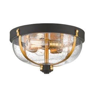 Avery Home Lighting Burren 3-light Flush Mount