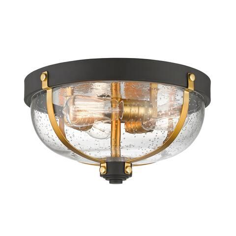 Avery Home Lighting Burren 3-light Flush Mount