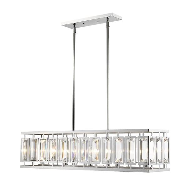 Avery Home Lighting Mersesse Chrome 5-light Pendant