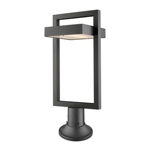 Avery Home Lighting Luttrel Outdoor 1-Light Pier Mounted Fixture