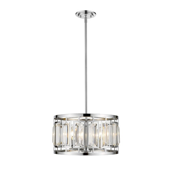 Avery Home Lighting Mersesse Chrome 4-light Pendant