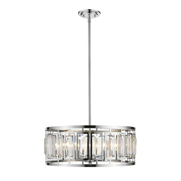 Avery Home Lighting Mersesse Chrome 6-light Pendant