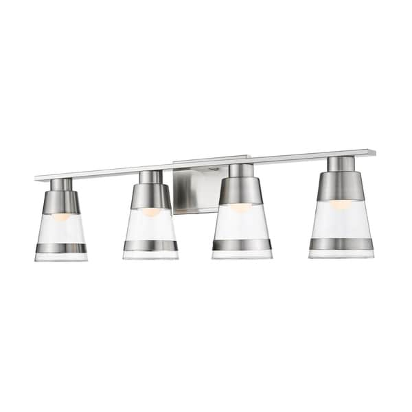 Shop Avery Home Lighting Ethos 4-light Vanity - Free Shipping Today ...
