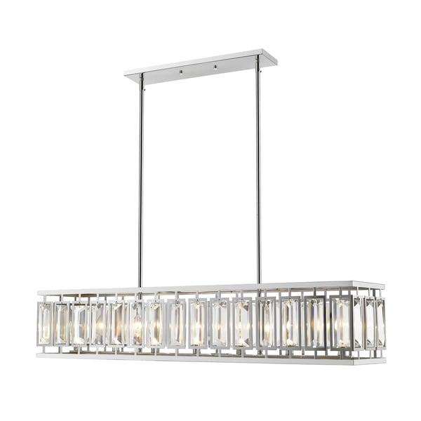 Avery Home Lighting Mersesse Chrome 7-light Pendant