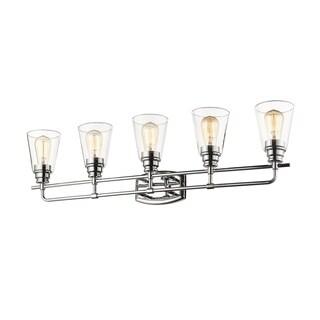 Avery Home Lighting Annora Chrome 5-light Vanity