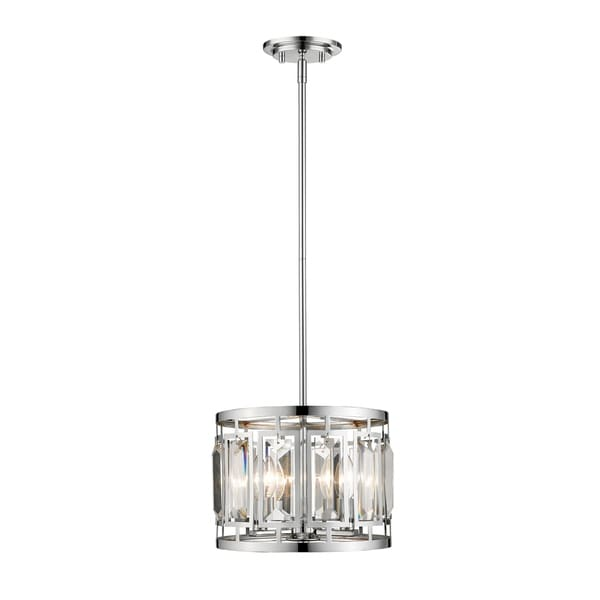 Avery Home Lighting Mersesse Chrome 3-light Pendant