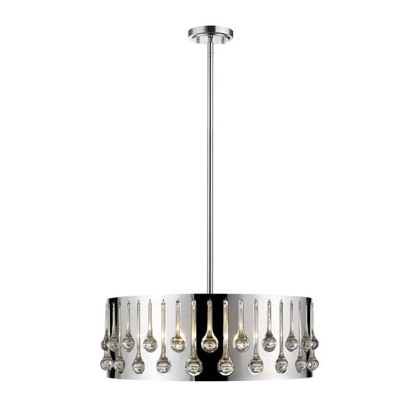 Avery Home Lighting Oberon Chrome 6-light Pendant