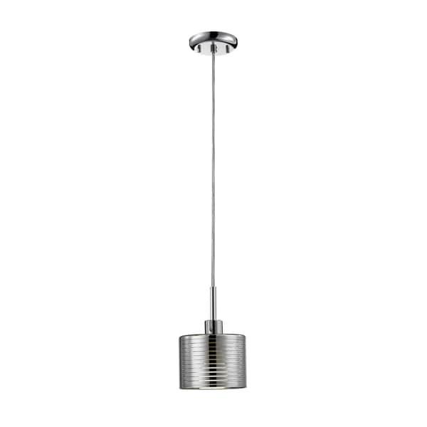 Avery Home Lighting Sempter Chrome 1-light 6.25-inch Pendant