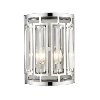 Link to Avery Home Lighting Mersesse Chrome 2-light Wall Sconce Similar Items in Sconces