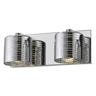 Avery Home Lighting Sempter Chrome 2-light Vanity