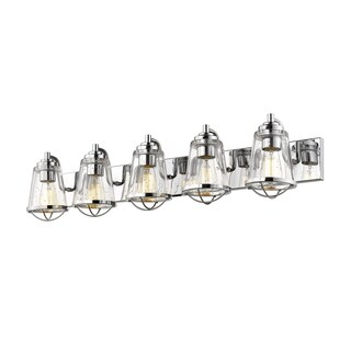 Avery Home Lighting Mariner Chrome 5-light Vanity