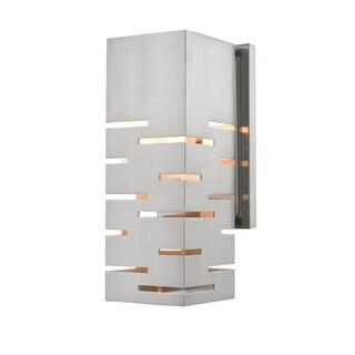 Avery Home Lighting Loek Brushed Nickel 1-light Wall Sconce
