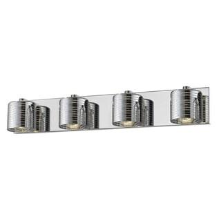 Avery Home Lighting Sempter Chrome 4-light Vanity