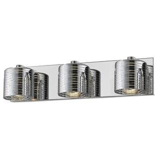 Avery Home Lighting Sempter Chrome 3-light Vanity