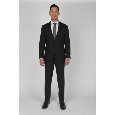 "KC Technicole Black Suit with 32"" inseam"