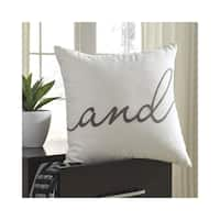 Signature Design by Ashley And Throw Pillow