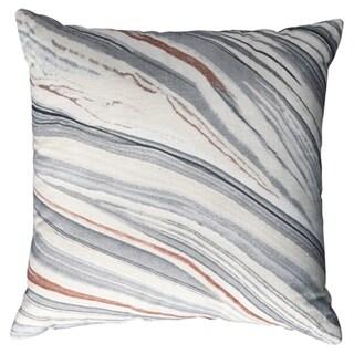 Miquel Grey Stone Design Pillow