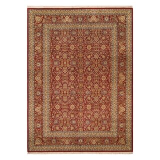 "Pak-Persian Sulema Red/Teal Wool Rug - 10' 0"" x 14' 5"""