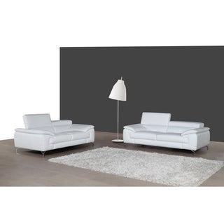 A973 White Sofa