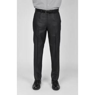 Kenneth Cole Reaction Gunmetal Basketweave Suit Separate Pant