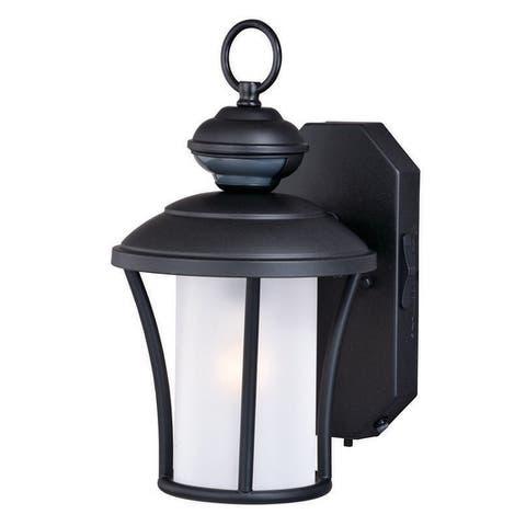 Parker Bronze Motion Sensor Dusk to Dawn Outdoor Wall Light - 7.5-in W x 13-in H x 9-in D